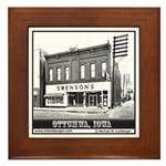 Swenson's Bakery Framed Tile
