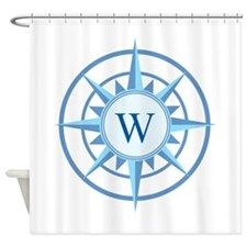 Shower curtains sail boat anchor decor fabric shower curtain liner