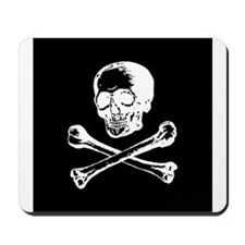 Masonic Skull and Crossbones Mousepad