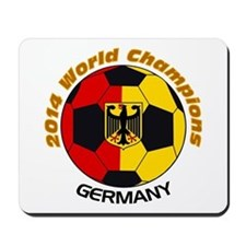 2014 World Champions Germany Mousepad