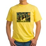 Starry Night Tri Cavalier Yellow T-Shirt