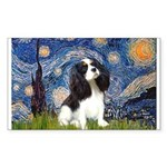 Starry Night Tri Cavalier Sticker (Rectangle)