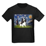 Starry Night Tri Cavalier Kids Dark T-Shirt