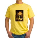 The Queen's Tri Cavalier Yellow T-Shirt