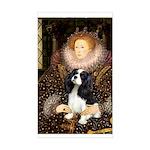 The Queen's Tri Cavalier Sticker (Rectangle)