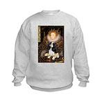 The Queen's Tri Cavalier Kids Sweatshirt