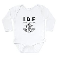IDF Israel Defense Forces - ENG - Black Body Suit