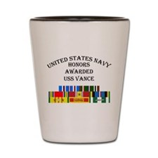USS Vance Shot Glass