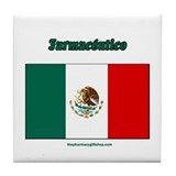 Farmaceutico (mexico pharmaci Tile Coaster