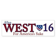 allen west 2016 Bumper Sticker