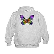 Rainbow Butterfly Hoodie