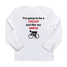 Cyclist Like My Uncle Long Sleeve T-Shirt