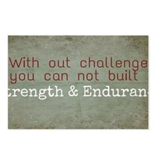 Unique Endurance challenge Postcards (Package of 8)