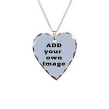 Add Image Necklace Heart Charm