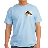 Duck Mallard Hen Ash Grey T-Shirt
