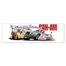 Can Am Racing Bumper Bumper Sticker
