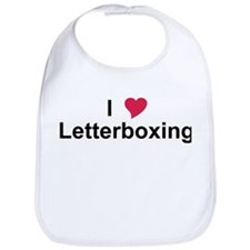 I Love Letterboxing Bib