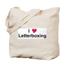 I Love Letterboxing Tote Bag