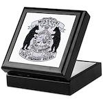 Missouri Highway Patrol Keepsake Box