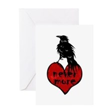 nevermore Greeting Cards