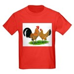 Mille Fleur Dutch Bantams Kids Dark T-Shirt