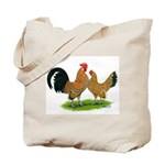 Mille Fleur Dutch Bantams Tote Bag