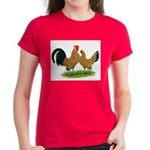 Mille Fleur Dutch Bantams Women's Dark T-Shirt