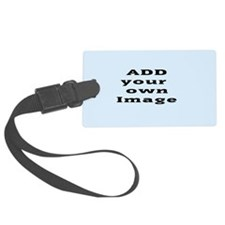 Add Image Luggage Tag