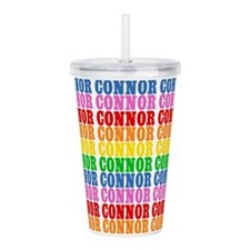 Rainbow Connor Pattern Acrylic Double-wall Tumbler