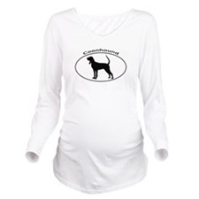 COONHOUND Long Sleeve Maternity T-Shirt