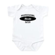 Pro Burrito eater Infant Bodysuit