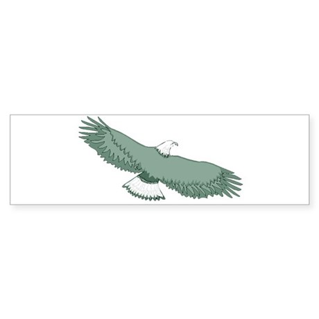 Bald Eagle Bumper Sticker