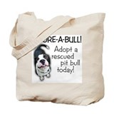 Adore-A-Bull! Pit Bull Tote Bag