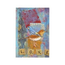 Infinite Love andGratitude Rectangle Magnet