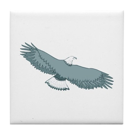 Bald Eagle Tile Coaster