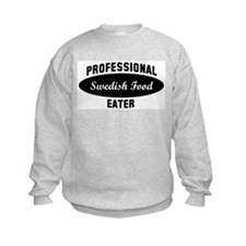 Pro Swedish Food eater Sweatshirt