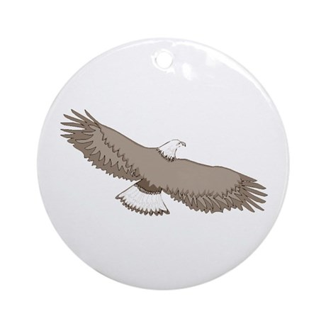 Bald Eagle Ornament (Round)