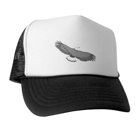 Bald Eagle Trucker Hat