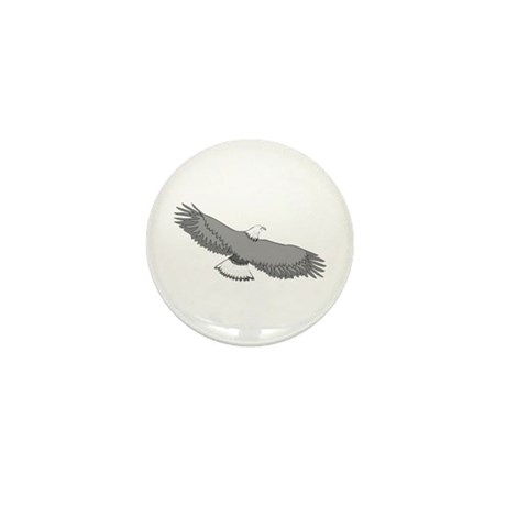 Bald Eagle Mini Button