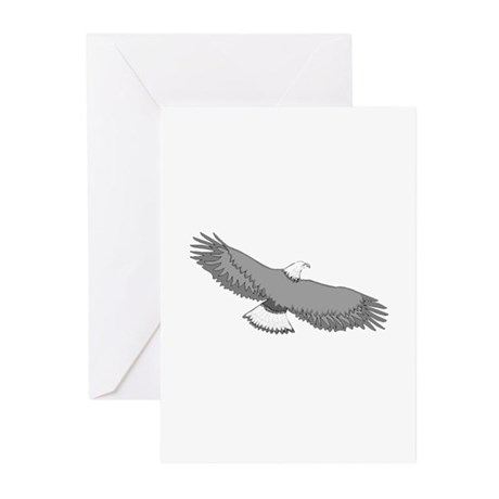 Bald Eagle Greeting Cards (Pk of 10)