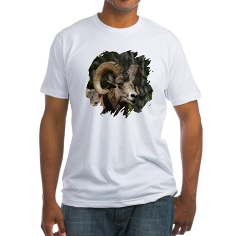 Bighorn Sheep - Ram Fitted T-Shirt