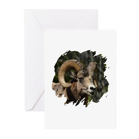 Bighorn Sheep - Ram Greeting Cards (Pk of 10)