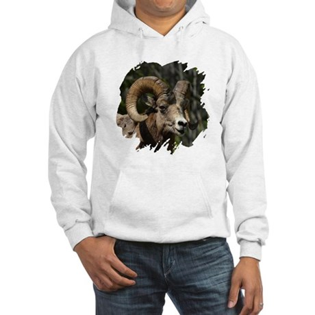 Bighorn Sheep - Ram Hooded Sweatshirt