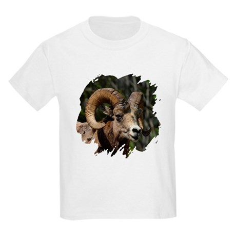 Bighorn Sheep - Ram Kids Light T-Shirt