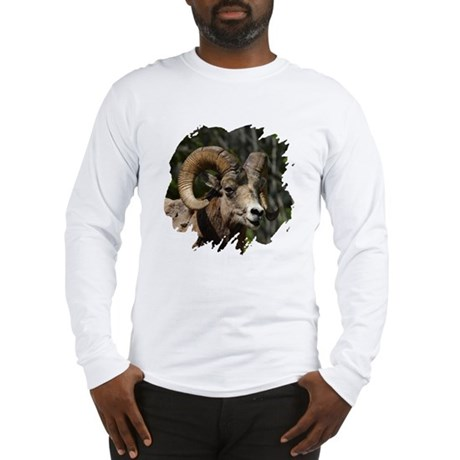 Bighorn Sheep - Ram Long Sleeve T-Shirt