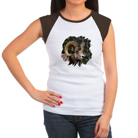 Bighorn Sheep - Ram Women's Cap Sleeve T-Shirt