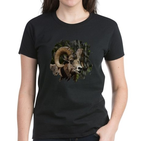Bighorn Sheep - Ram Women's Dark T-Shirt