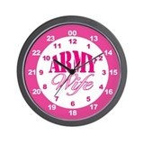 Army Wife 24-Hour Military Time Clock