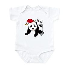 Christmas Panda Custom Onesie