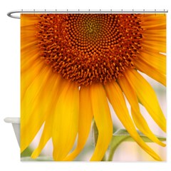 Sunflower Shower Curtains